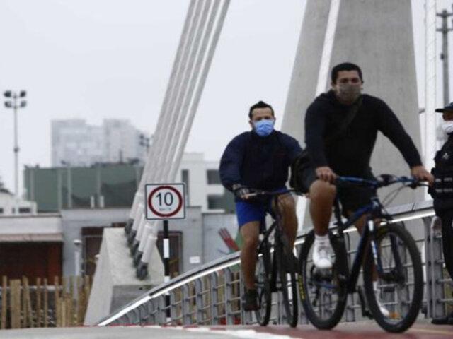Ciclistas continúan arriesgando su vida en Av. El Ejército pese a inauguración del Puente de la Amistad