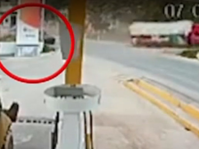 Despiste de un camión provocó la muerte de un mototaxista en Cajamarca