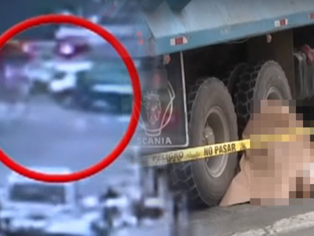 Miraflores: anciano murió atropellado por un camión en la avenida Benavides