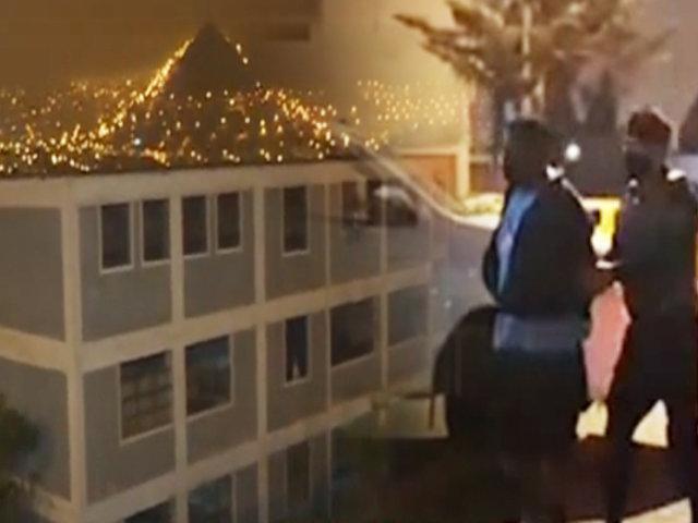 PNP captura a banda de intentó robar en colegio de Villa María del Triunfo