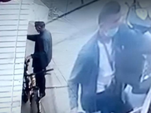 Callao: cámara de seguridad registra robo de bicicleta en La Perla