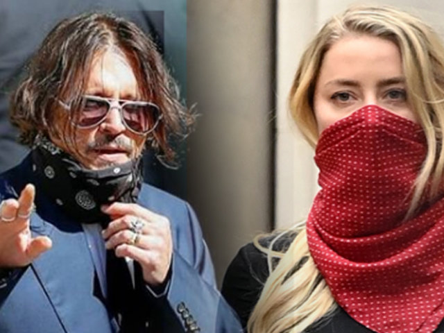 Johnny Depp y Amber Heard se ven las caras después de cuatro años