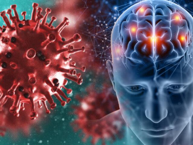 COVID-19: estudio señala que virus afecta el cerebro incluso en pacientes leves