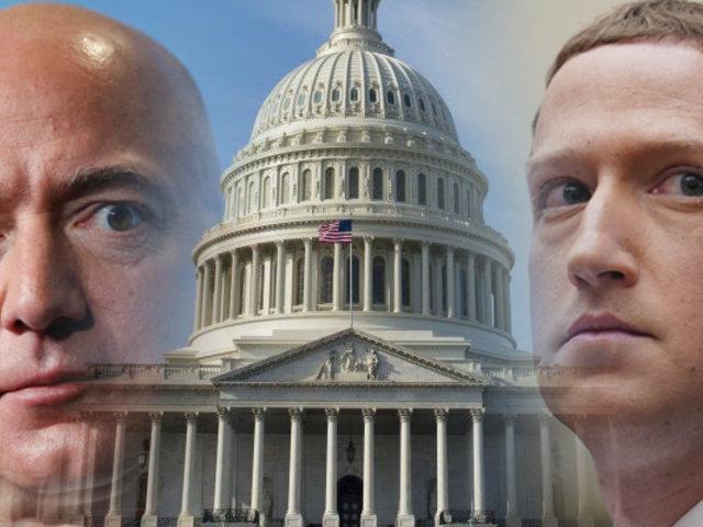 Mark Zuckerberg y Jeff Bezos testificarán ante el Congreso de EEUU