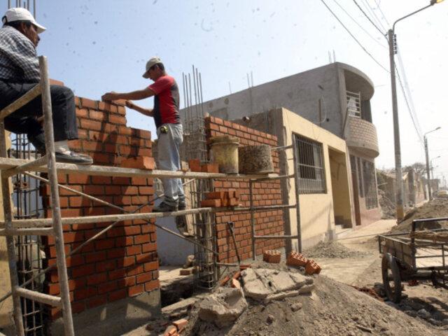 Retomarán construcción de más de 6 viviendas afectadas por El Niño