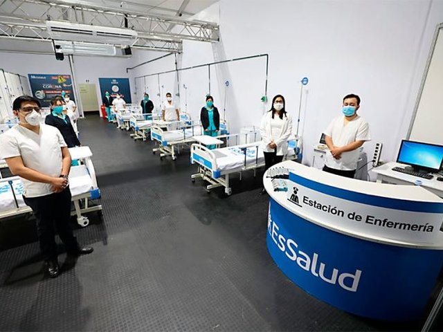 """Lambayeque: """"Villa EsSalud Ferranafe"""" empezó atender a pacientes con COVID-19"""