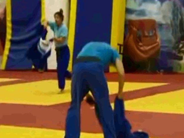 Así entrenan ahora judokas peruanos para prevenir contagio del COVID-19