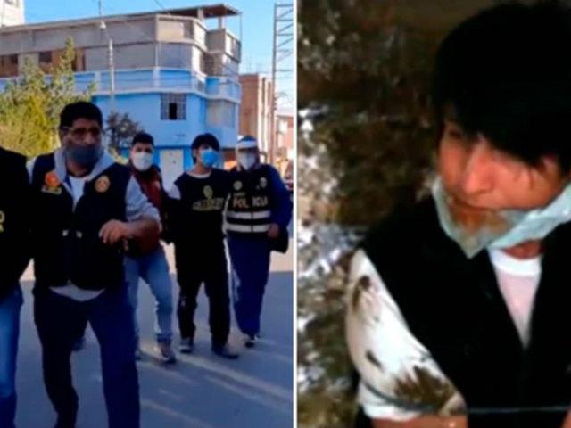 Huancayo: joven se autosecuestra para pedir 7 mil soles a su madre
