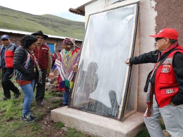 Cusco: más de 1000 familias beneficiadas con implementación de casas térmicas