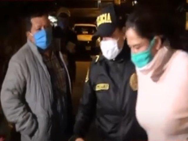 SJL: mujer acusada de atacar a su expareja negó haberle arrojado ácido muriático