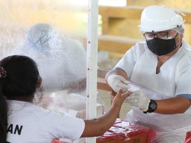 Comunidades nativas de la región Loreto recibieron atención médica y pasaron test de COVID-19