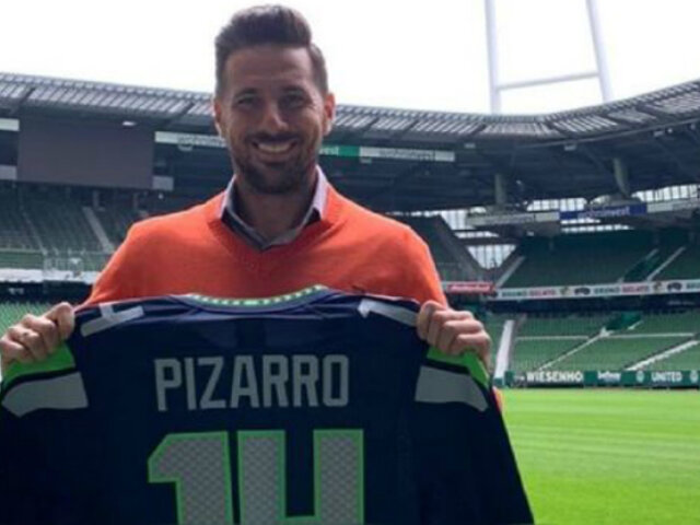 Instagram: Claudio Pizarro publicó foto que muestra su inicio y final en Werder Bremen