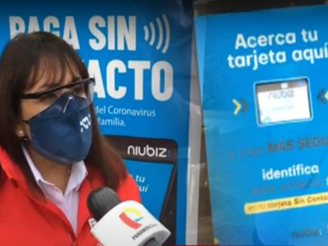 """ATU iniciará proceso de """"pago sin contacto"""" en el transporte público"""