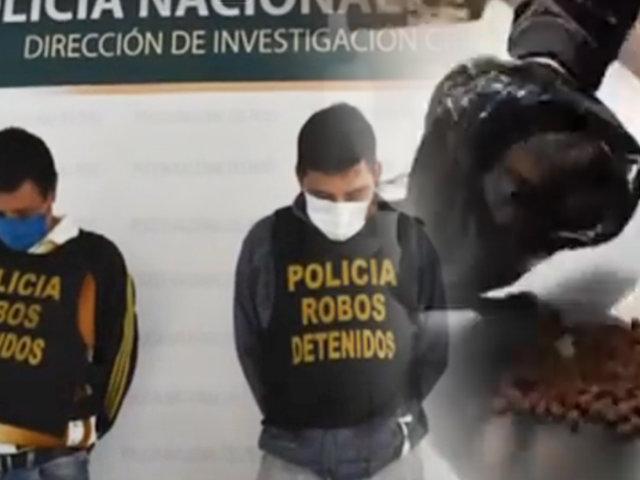 Chosica: PNP captura peligrosa banda cuando estaban a punto de robar una vivienda
