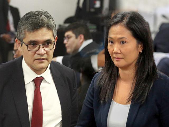Keiko Fujimori: Fiscal Domingo Pérez solicita revocar excarcelación por incumplir restricciones