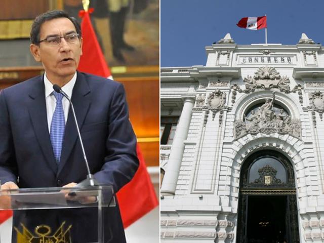 Congreso: Comisión de Fiscalización citará al presidente Martín Vizcarra