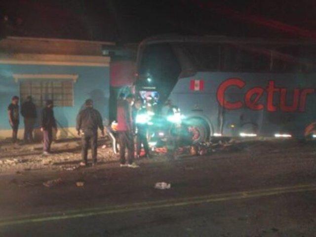 Arequipa: triple choque dejó una persona muerta y varios heridos