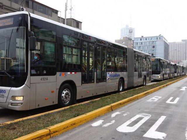 Metropolitano: concesionarias anunciaron que este 15 de julio dejaría de funcionar el servicio