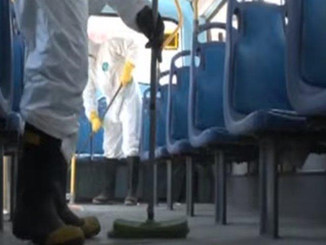 Contraloría: ATU contrató servicio de desinfección deficiente por S/ 42 millones