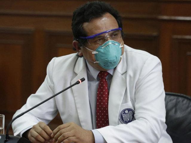 Federación Médica consultará a asamblea suspender paro tras diálogo con la PCM