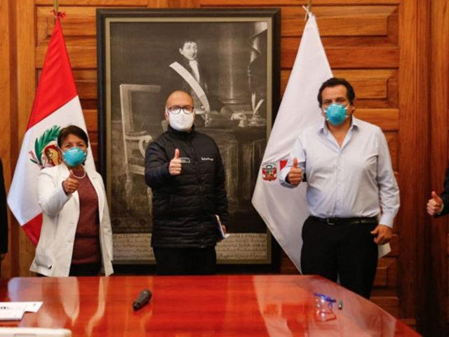 Ministro Zamora: Federación Médica suspendió paro anunciado para el 15 y 16 de julio