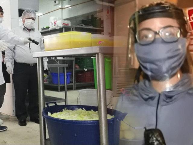 Se realiza operativo en pollerías de San Martín de Porres