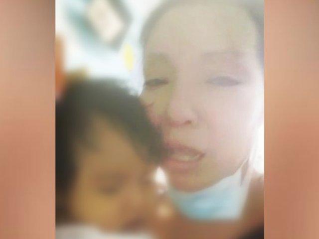 Madre pide ayuda para su bebé: necesita un trasplante de hígado urgente