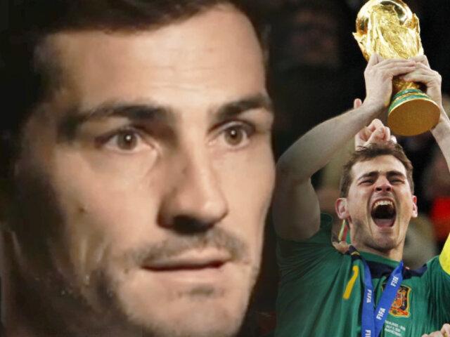 """Iker Casillas recuerda su infarto: """"Jamás he vuelto a dormir bocabajo"""""""