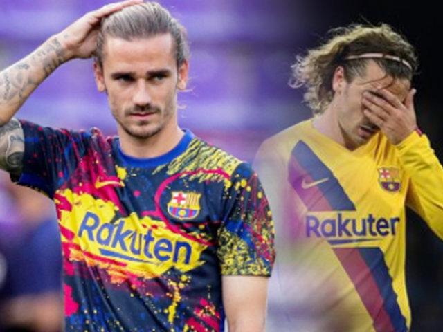 Barcelona confirmó baja de Griezmann por lesión
