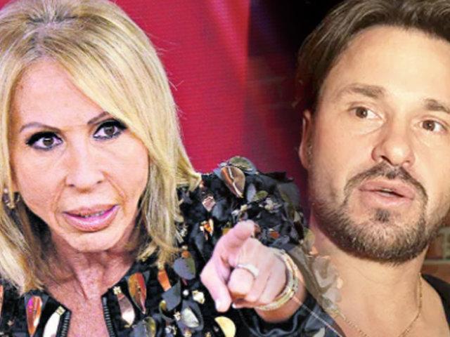 """Cristian Zuárez exige dinero a Laura Bozzo por los """"16 años a su lado"""""""