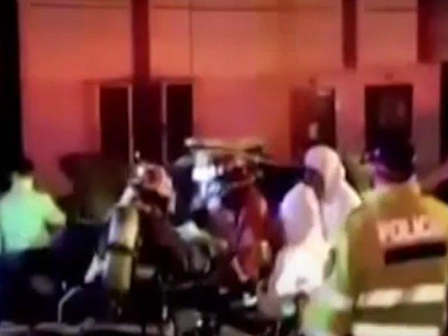 Jesús María: patrullero choca contra un poste durante persecusión a raqueteros