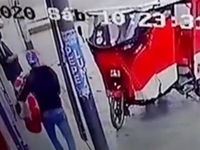 Comas: mujer denuncia a pareja de venezolanos de robar sus electrodomésticos