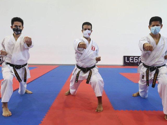 Karate y Lucha reinician sus entrenamientos presenciales