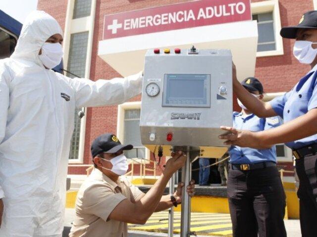Marina de Guerra pondrá a disposición del Minsa 100 nuevos respiradores SAMAY, hechos en Perú