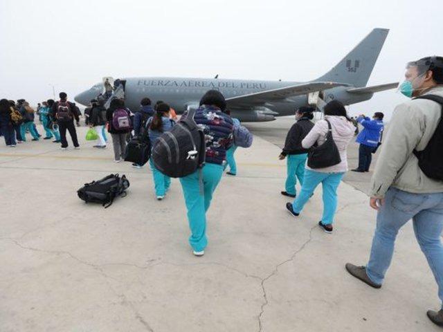 Profesionales de la salud viajaron a Amazonas y San Martín para luchar contra la COVID-19