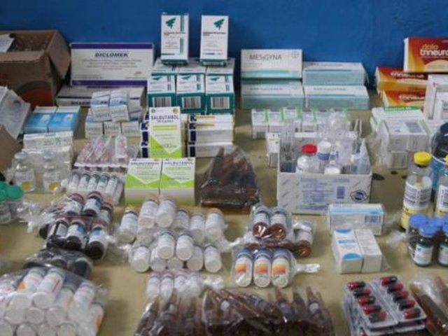 Cercado de Lima: intervienen farmacia por vender productos adulterados de hospitales