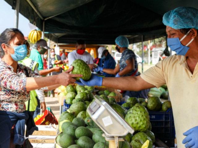 """""""De la chacra a la olla"""": mercados itinerantes vuelven mañana en cuatro distritos limeños"""