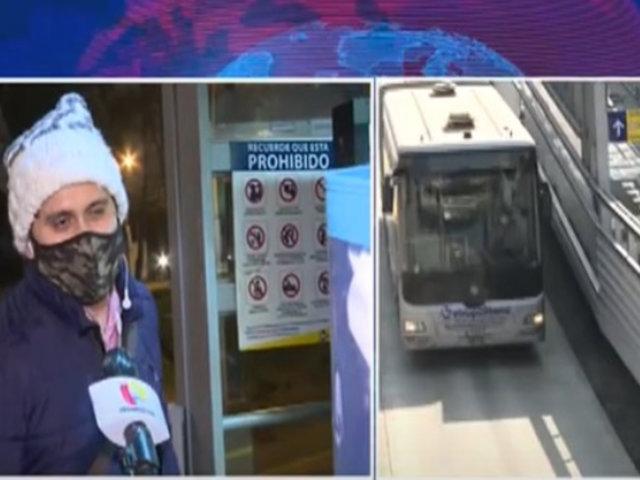 Metropolitano: Aún no se define subsidio para evitar incremento de pasajes