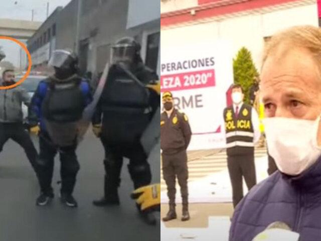 PNP identificó a sujeto que acuchilló por la espalda a fiscalizador de la Municipalidad de Lima