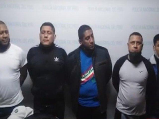 Callao: cae banda de marcas tras intensa persecución
