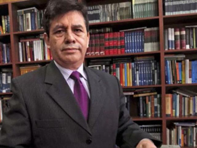 Tomas Gálvez: Fiscalía pide ampliar a 12 meses su impedimento de salida