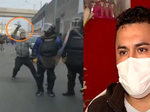 ¡EXCLUSIVO! Fiscalizador se pronuncia tras ser acuchillado en el Centro de Lima