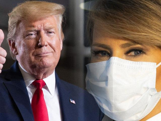 Melania Trump aconseja llevar mascarilla pese al escepticismo de su esposo