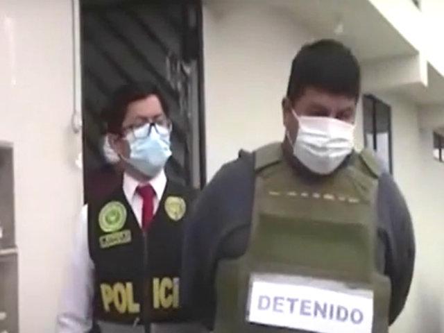 Barranca: policía atrapa a banda delincuencial que cometía asaltos en serie