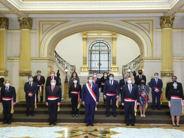 Gabinete de Cateriano se presenta ante el pleno del Congreso para pedir voto de confianza