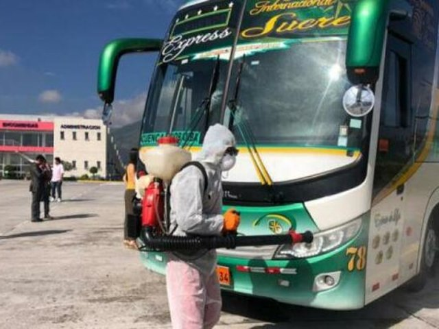 """Transporte interprovincial al 20% de su nivel: """"público tiene reticencia a viajar"""""""