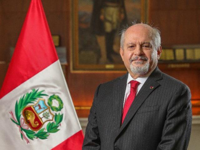 Pedro Cateriano: Ratifico mi compromiso para revertir con todos los peruanos esta crisis