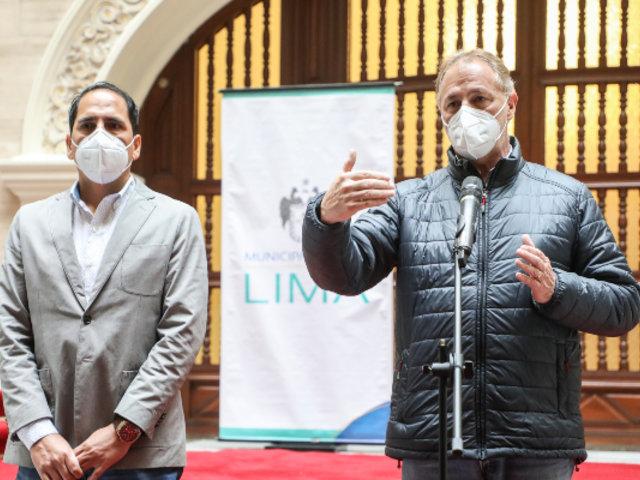 Alcalde de Lima: Pasajes de transporte no subirán en Metropolitano y Corredores Complementarios