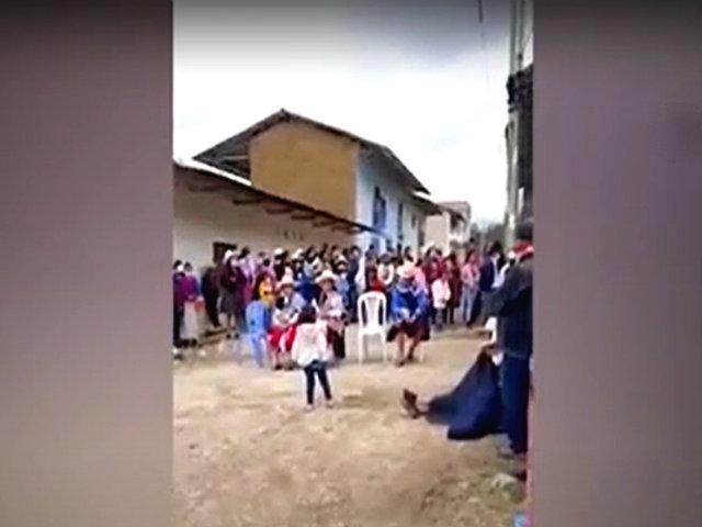 En plena pandemia: decenas celebran fiesta patronal en Cajamarca