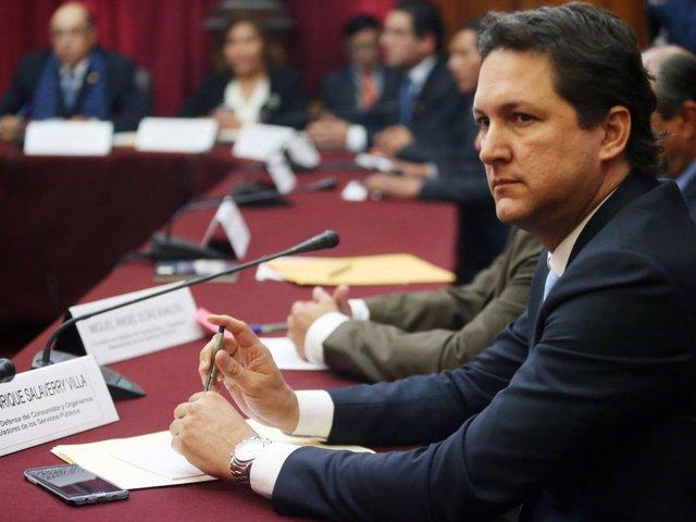 Fiscalía denuncia a Daniel Salaverry por peculado y falsedad ideológica